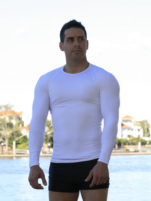 Long Sleeve Muscle Top