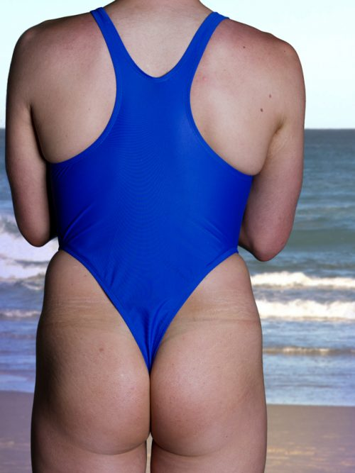 Action Back Thong One Piece