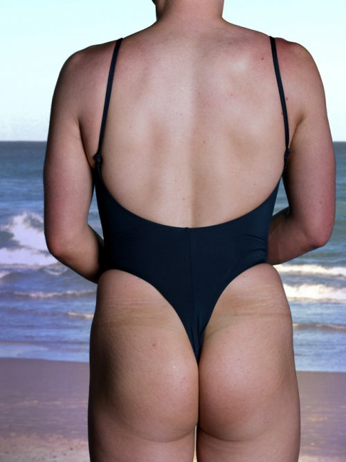 Open Back Thong One Piece