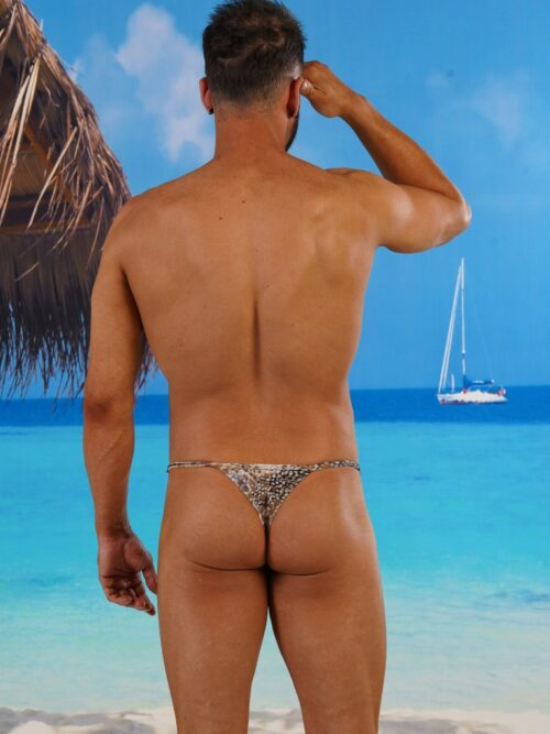 Men's adjust-able Sides Super Slim Thong