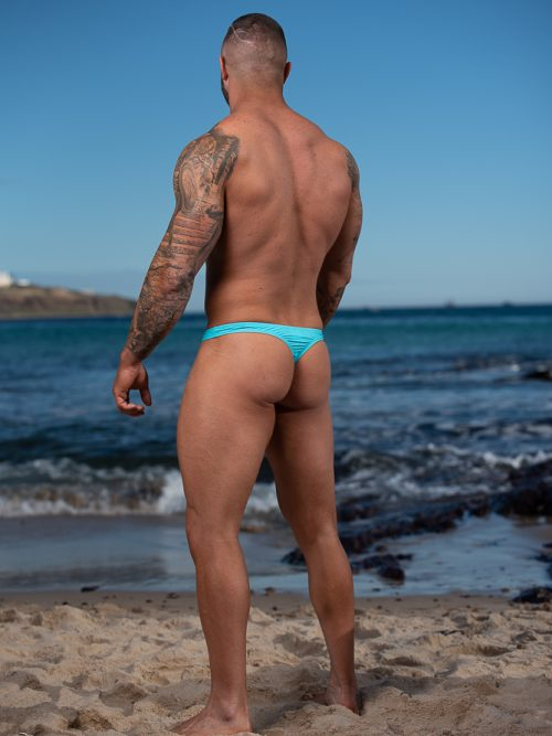 Male pouched regular Thong